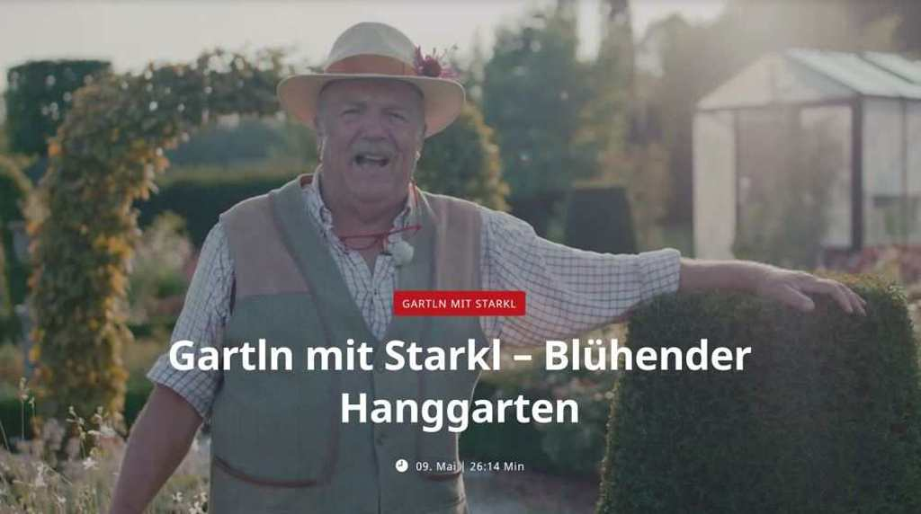 Gartln mit Starkl Haslinger